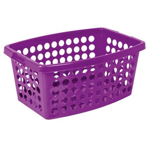 Washing basket 40l color Plum 1250 Branq