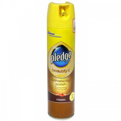 Gloss and dust protection foam for wood Classic 250ml Pledge