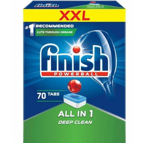 Dishwasher Tablets 70pcs Regular Finish Powerball