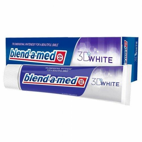 Toothpaste 100ml White 3D Blend-a-med