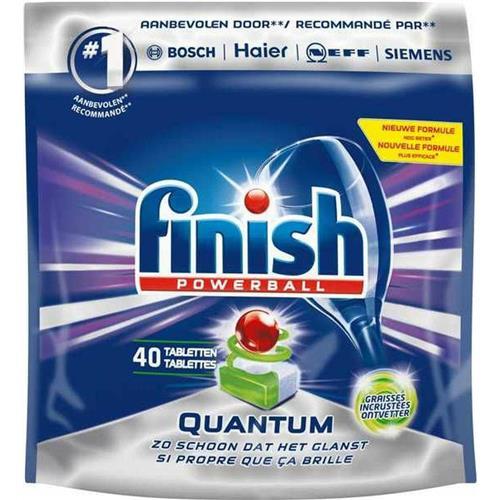 Dishwasher Tablets 40 pcs Quantum Max Finish Powerball