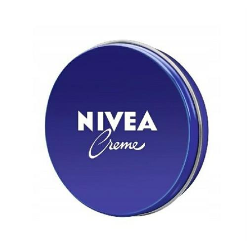 The cream for the face and body in a 150ml tin of Nivea