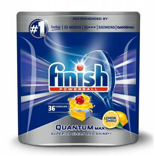 Finish Quantum Max Lemon Dishwasher Tablets 36 pcs