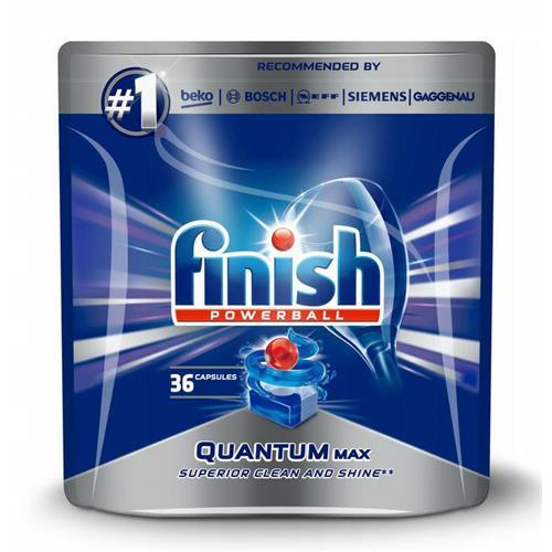 Finish Quantum Max dishwasher tablets Regular 36 pcs