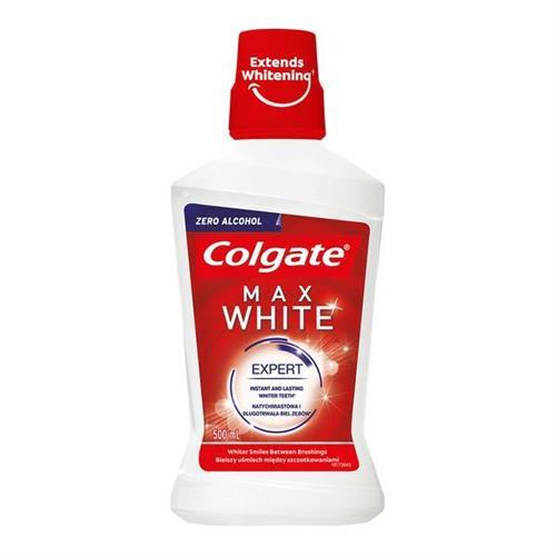 Colgate Mouthwash 500ml Max White Expert