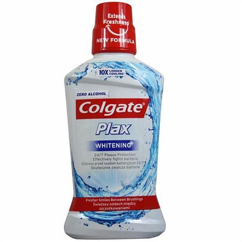 Colgate Mouthwash 500ml Plax Whitening