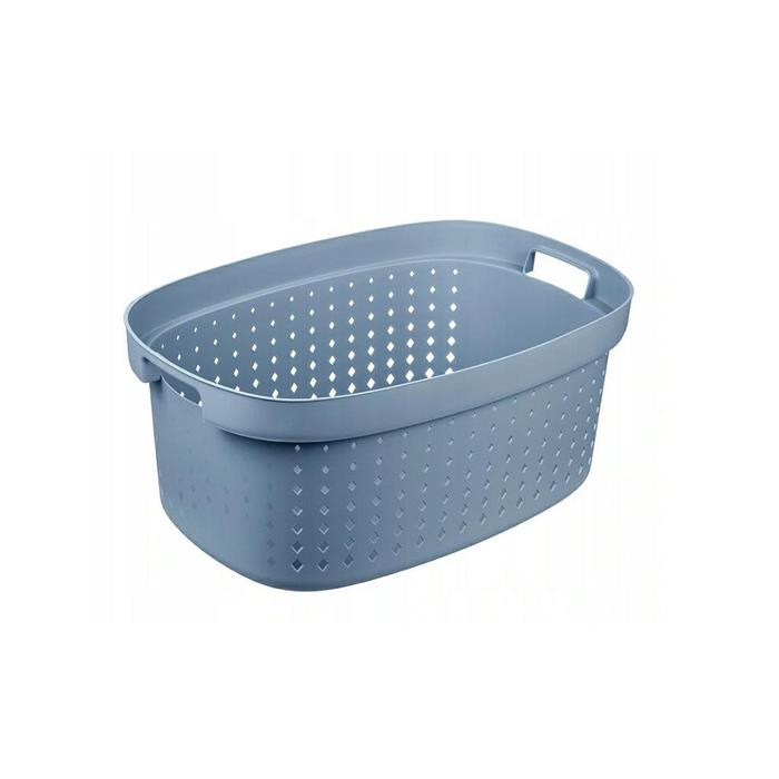 Laundry baskets - Plast Team Kosz Na Bieliznę Seoul Laundry 42l Niebieski 6032 -