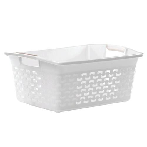 Washing basket, Cotton 30l 1415, Antique White Branq