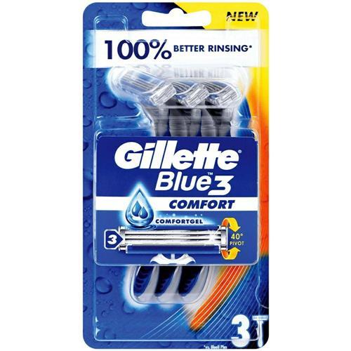 Gillette Blue3 Comfort Shaving machines 3 pcs
