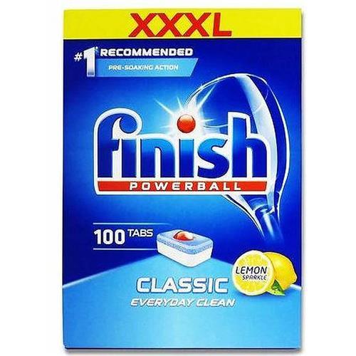 Finish Powerball Dishwasher tablets 100 pcs Lemon