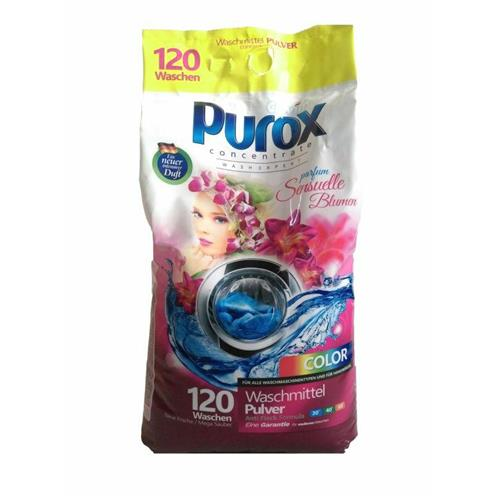 Purox Washing Powder Perfumed Color 9,2 Kg Parfum Sensuelle Blumen